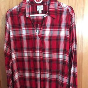 St. John's Bay long sleeve Flannel